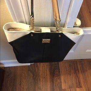 Calvin Klein color block purse